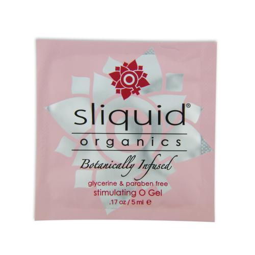 Sliquid Organic Gel O Gel pentru Stimulare - pliculet 5ml
