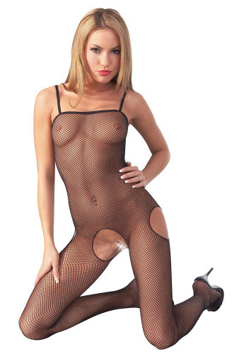 Mandy Mystery Catsuit cu Decupaje Laterale - Large-Xlarge thumbnail