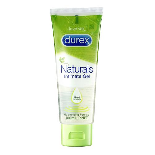 Durex Naturals Gel Lubrifiant Intim din Ingrediente de Origine Naturala 100 ml