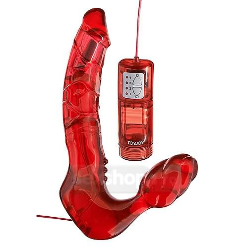 Toy Joy Strap-on Fara Chingi cu Vibratii