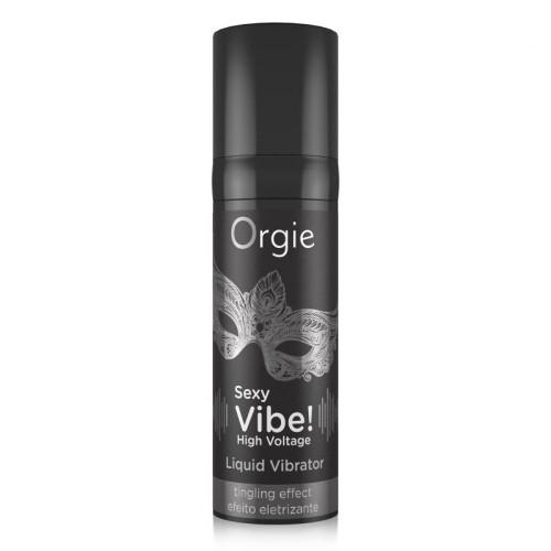 Orgie Vibratii Sexy Voltaj Ridicat Vibrator Lichid cu Efect Electrizant Puternic thumbnail