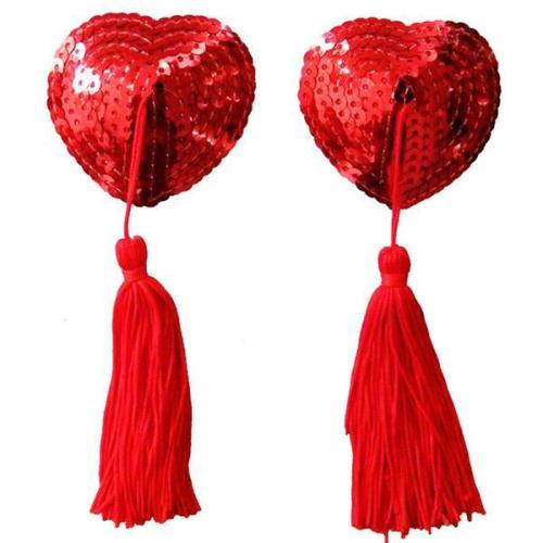 Inimioare Rosii Ciucurasi pentru Sfarcuri thumbnail