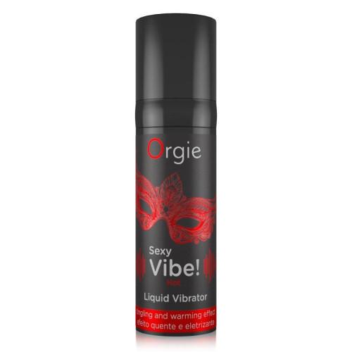 Orgie Vibratii Sexy Fierbinte Vibrator Lichid cu Efect Electrizant si de Incalzire thumbnail