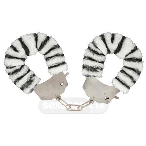 Imagine Toy Joy Catuse Cu Blanita - Culoare Zebra