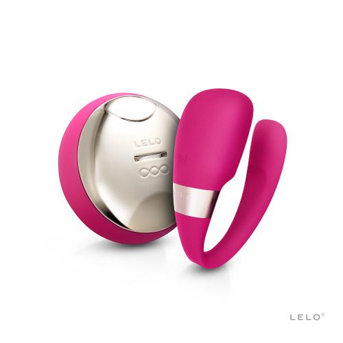 LELO Tiani 3 Vibrator cu Telecomanda pentru Cupluri - culoare Roz thumbnail