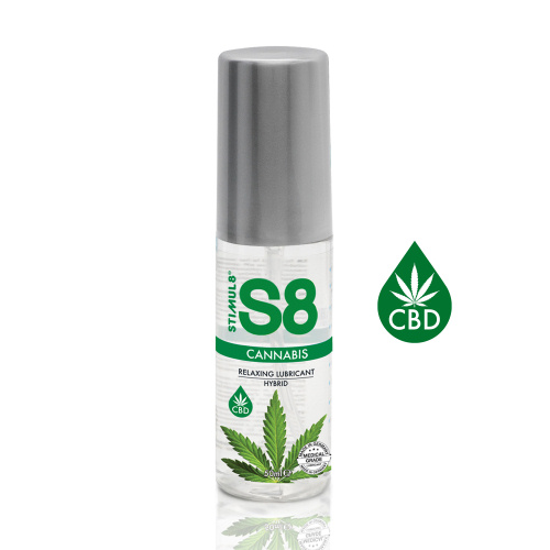 Stimul8 S8 Cannabis Lubrifiant Sexual Hibrid Relaxant cu CBD 50 ml thumbnail