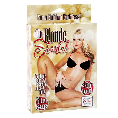 Vedeta Blonda Papusa